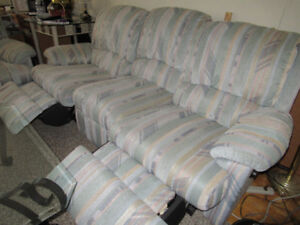 Reclining Couch & Love Seat