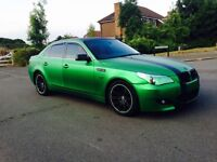 BMW 2004-530D-DIESEL AUTO-FULL GREEN WRAPPED-FULL 1 YEAR MOT-IN OUT CLEAN-START DRIVES EXCELLENT