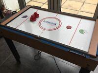 Mini football , snooker and ice hockey table