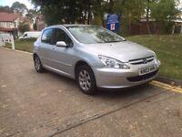 Peugeot 307 1.4 hdi diesel 2003 low mileage