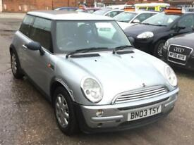 2003 MINI ONE 1.6 3dr***1 PRE OWNER + 8 SERVICE STAMPS***