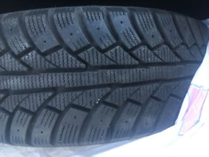 Toyota Winter tires on rims for sale
