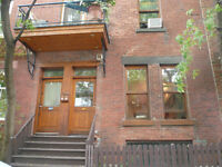 Very large 1st floor Plateau-West 2 bdr Full equiped !
