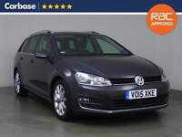 2015 VOLKSWAGEN GOLF 2.0 TDI GT 5dr Estate