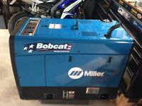 Miller Welder BOBCAT Generator 250Efi ONLY 5.5 hours on it!