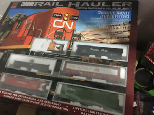 Reduced for Quick Sale! Electric Train set- Canadian Rail Hauler