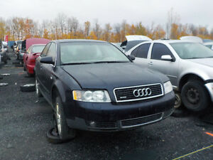 2003 Audi A4 Now Available At Kenny U-Pull Cornwall