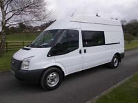 FORD TRANSIT 350 125PS WELFARE/MESS VAN, 63 REG, 78,000 MILES