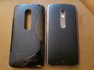 Moto X Play 16GB Android Phone w/ case and screen protectors