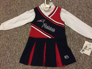 New England Patriots cheerleader outfit