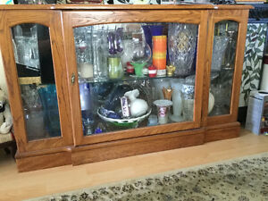 Curio/China Cabinet with Light