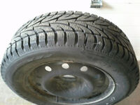 4 215/60R16 Sailun Ice Blazer tires and rims