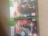 Dead island 1/2 Riptide Xbox 360