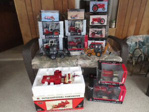 Case International Precision Farm Toy Tractors