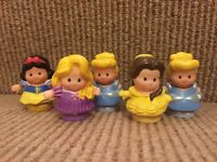 Little people fisher price Disney princess