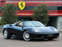 2003 Ferrari 360M 360 Spider Convertible Petrol Manual
