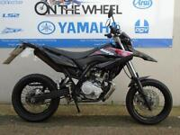 2011 YAMAHA WR125 X BLACK/RED *LOW MILES*