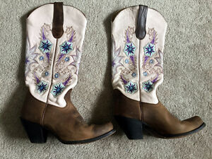 Boots, Square Dancing, Fancy western boots, size 7.5 ladies