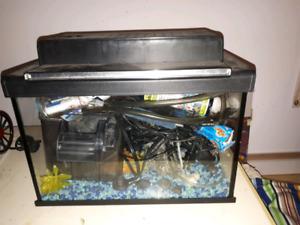 Aquarium 10 GAL Full Equipe