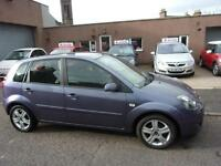 FORD FIESTA 1.2 zetec climate 2007 Petrol Manual in Purple