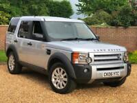 2006 06, Land Rover Discovery 3 2.7TD V6 auto SE + 7 SEATS + HEATED LEATHER