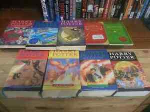 Harry Potter entire book collection