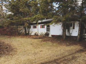 Estate Property In Inglis, Manitoba, Two Serviced Lots Needs TLC
