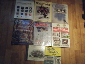 Watercolor Books for sale (8)