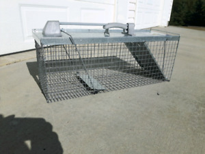 Live animal cage trap