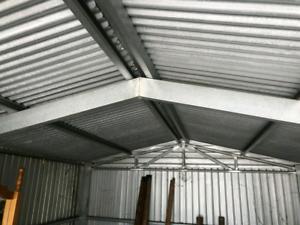 Dismantled shed