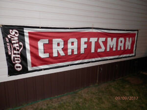 World of Outlaws Craftsman Banner  3' × 12'