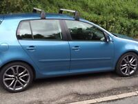 VW GOLF GT TDI 140 SPORT. JUST SPENT £2000!! FSH MUST GO!! YOU WONT FIND ONE LIKE IT. PRIVATE SALE