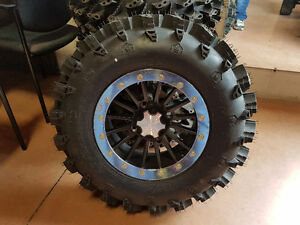 "28"" SWAMP LITE TIRES ON 14"" ITP SD BEADLOCK WHEELS FOR CAN-AM"