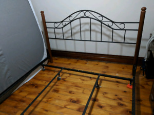 King Size bed frame with head/foot board