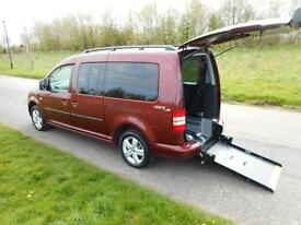 2013 Volkswagen Caddy Maxi Life 1.6 Tdi 7 SEATS Wheelchair Accessible Vehicle