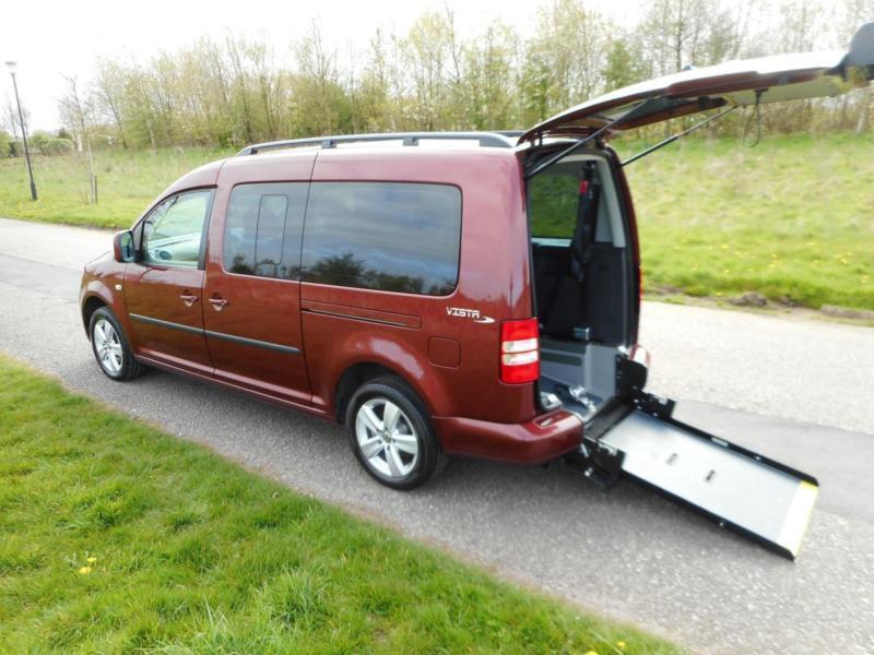 2013 Volkswagen Caddy Maxi Life 1.6 Tdi 7 SEATS Wheelchair Accessible Vehicle
