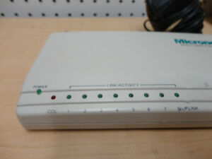 Micronet SP243A 10 Base -T Etherhub Workgroup 9-PORT with BNC Kitchener / Waterloo Kitchener Area image 1