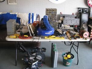 ASSORTED TOOLS sale -- all reasonable  compresser nailers mitre