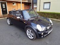 2006 MINI COOPER CONVERTIBLE 1.6 - 12 MONTHS MOT LOW MILEAGE 80K FSH - FULLY LOADED FAULTLESS