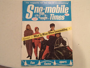 Sno-mobile Times December 1969 VGC RARE.
