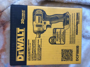 DeWalt Impact Wrench plus battery pack