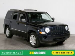 2010 Jeep Patriot North 4WD A/C GR ELECT MAGS
