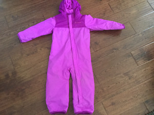 One piece Columbia snowsuit 18-24 mos like NEW