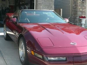 1993 Corvette 40th Anniversary Convertible 6 SP