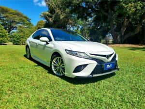 2017 Toyota Camry GSV70R SL White 8 Speed Sports Automatic Sedan Garbutt Townsville City Preview
