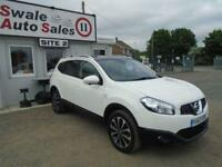 2013 NISSAN QASHQAI+2 1.6 PLUS 2 N-TEC PLUS IS - 35,133 MILES - 7 SEATER