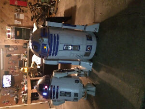 R2d2 costume/room decoration
