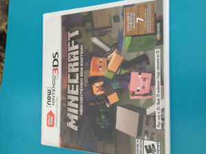 Minecraft new Nintendo 3DS game