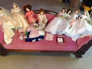 Ashton Drake porcelain dolls
