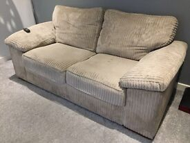 **REDUCED... HARVEYS SOFA/SOFA BED